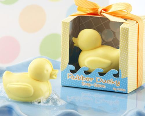 Lovely Wedding Favor Gift Soap - Yellow Duck