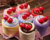 10 Pcs Cupcake Wedding Favors Towel