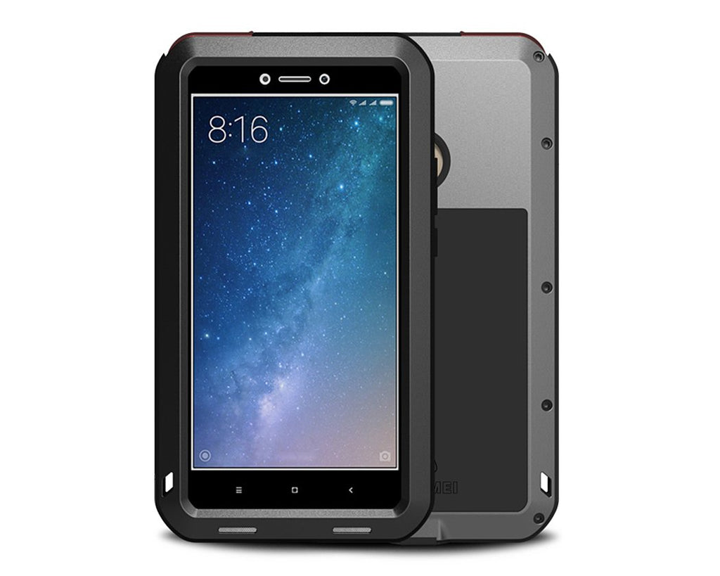 Xiaomi Mi MAX2 Waterproof Case Shockproof Metal Case