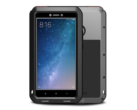 Xiaomi MAX2 Waterproof Case Shockproof Metal Case