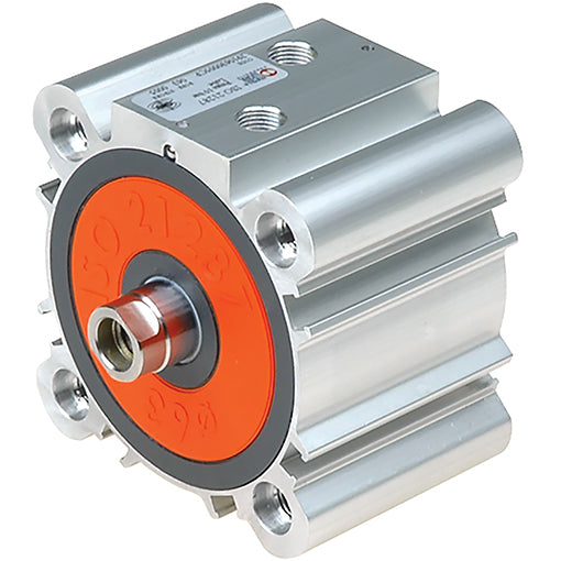 ISO 21287 Cylinders, Compact Series Liner, Double Acting, Male Piston Rod