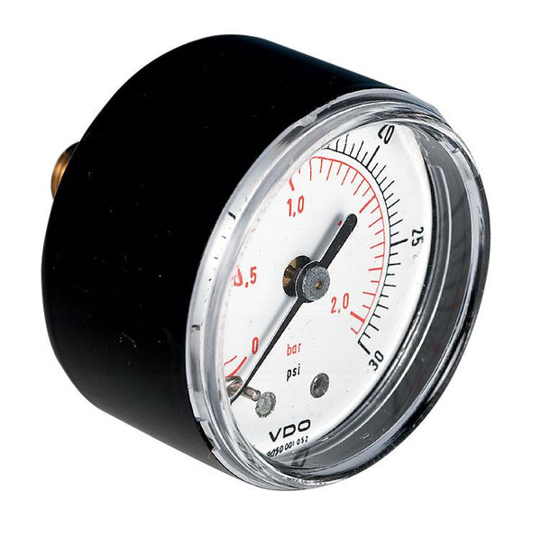 Pressure Gauge, Back Entry, Steel Case
