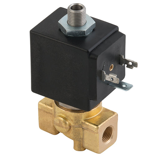 3 Way Valve, 3/2 Direct Acting, Normally Closed, BSPP