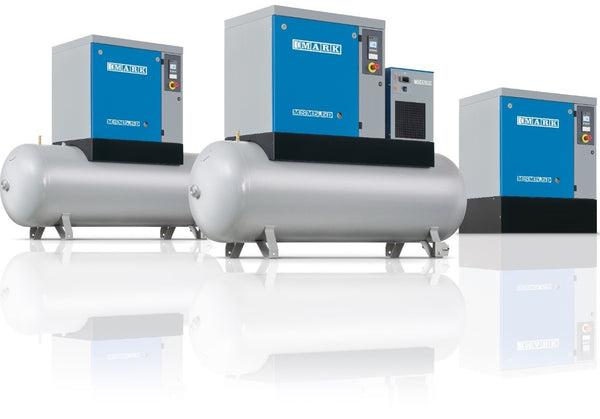 Rotary Screw Compressors + Refrigerated Dryer MSM series