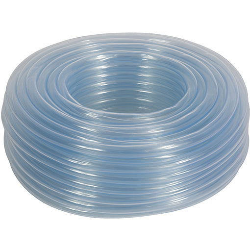 Clear Unreinforced PVC Hose, Light Wall, 30 Metre Coils