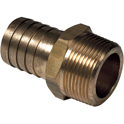 Brass Male Tapered Thread BSPT X Hose Tail