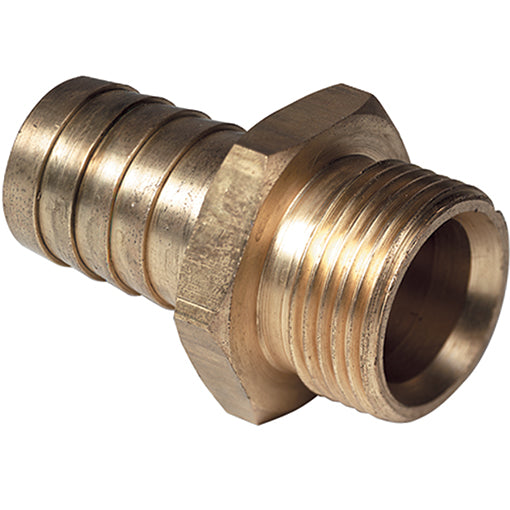 Brass Male Parallel Thread BSPP X Hose Tail
