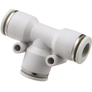 Plastic Grey Tube Fittings