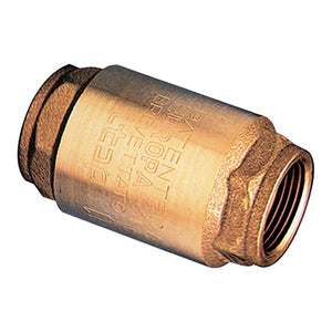 Non-Return Valve / Brass Check Valve with Metal Disc / BSPP G1.1/2""