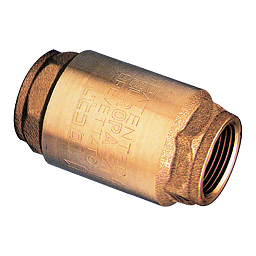 Non-Return Valve / Brass Check Valve with Metal Disc / BSPP G1""