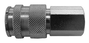 "Coupling Body Female Thread G1/4"", Hex 19mm, Length 55mm CODE: QRC25B14F"
