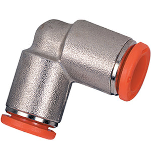 Metric Tube Push - in Fittings, Equal Elbow Tube 6 mm 2L04003