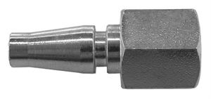 "Coupling Plug Female Thread G1/4"" Hex 17mm / Length 41mm CODE:QRPSC14F"