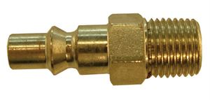 "Coupling Plug Male Thread G1/8"", Hex 14mm, length 36mm CODE: QRP2418M"