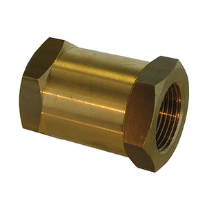 Brass Non-return Valve, Heavy Duty / F X F, BSPP G1/4""