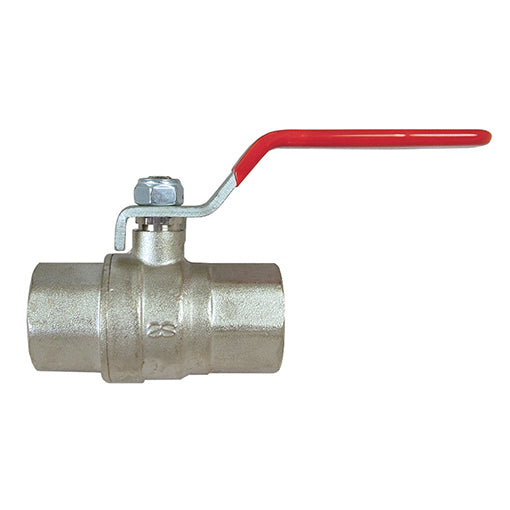 "Long Thread Full Ball Valve F.BSPP G1/2"" X F. 15mm"