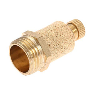 "Exhaust Silencer Restrictor, Brass, Thread BSPP 1/2"" CODE: ESR12"