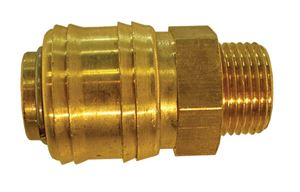 "Coupling Body Male Thread G3/8"", Hex 21mm, Length 41mm CODE: QRC2438M"