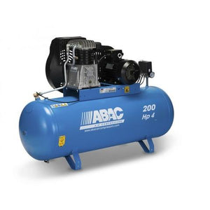 Belt Driven ABAC Compressor 4HP/3KW,  18CFM/11BAR / PRO B4900 200 FT4 - Lubricated /Part no. 4116019614