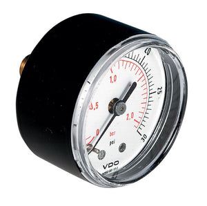 Pressure Gauge, Back Entry, Steel Case PGR040318