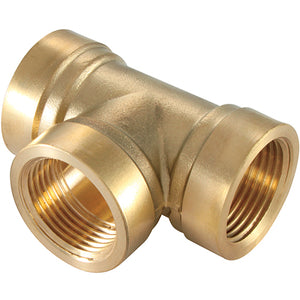 Brass Equal Tees Female Thread R1/2""