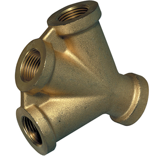 Brass Triple Connector Thread G3/8""