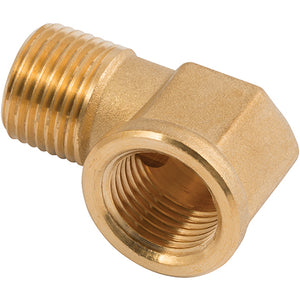 Brass Equal Elbow Male Thread X Female Thread R1/4""