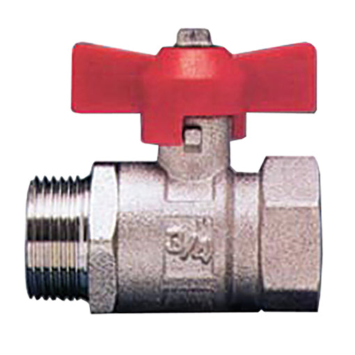 "T Handle M. X F. Full Flow Ball Valve BSPP G1/4"" / 54"