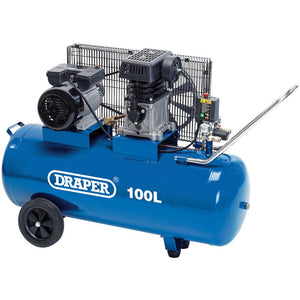 Draper 3 hp / 100 Litre air compressor