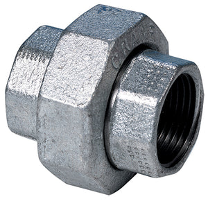 Galvanised Equal Female Union BSPP G3""