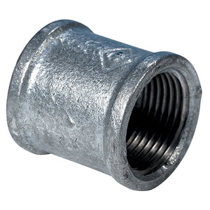 Galvanised Equal Female Socket BSPP G1/2""