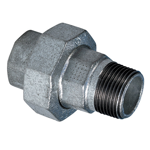 "Galvanised Equal Male/Female Union BSP R3/8"" X G3/8"""