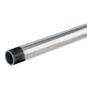 Galvanised Steel Tubing,  6.5m Lengths BSP 1.1/2""