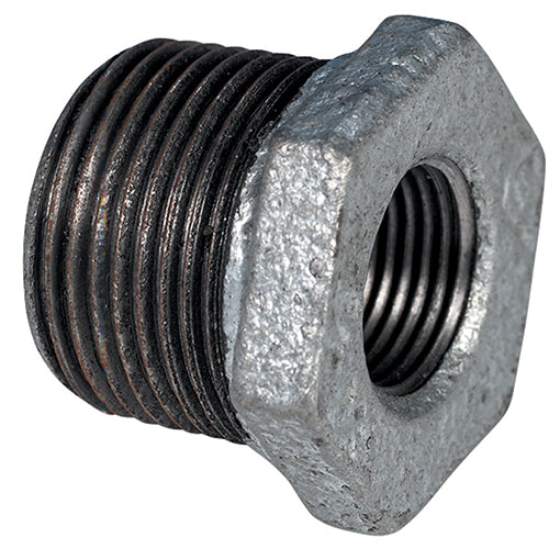 "Galvanised Reducing Bush BSPP G1/2"" X G3/8"""