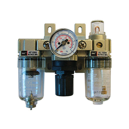 Micro Filter + Regulator + Lubricator Set, M% Ports M-AC1000-M5