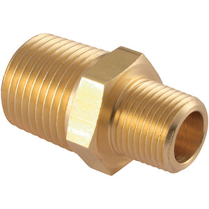 "Brass Unequal Male Adaptor R1/4"" R1/2"""