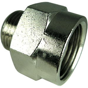 "Male X Female Parallel Adaptor Thread:  M5 G1/8"" CODE: MFAPM518"