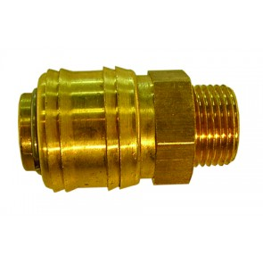 "Coupling Body Male Thread G1/8"", Hex 19mm, Length 44mm CODE: QRC1418M"