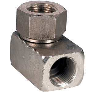 Nickel Plated Brass Single Rotary Joint G1/4""