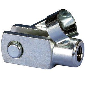 ISO 6432 Mini Cylinders Accessories, Fork Clevis 12-16mm / Thread M6