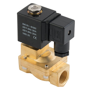 "ZS Series 2/2 Solenoid Valve / BSPP G1"" 220V AC"