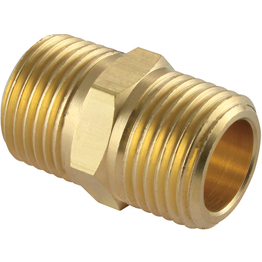 Brass Male Equal Adaptor Thread BSPT R1.1/2""