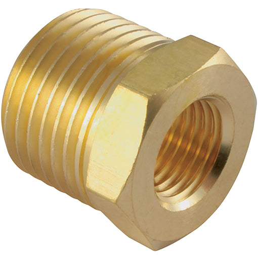 "Brass Reducing Bush Male Thread R1/8"" G1/2"""