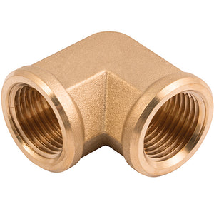 Brass Equal Elbow Female Thread R2""
