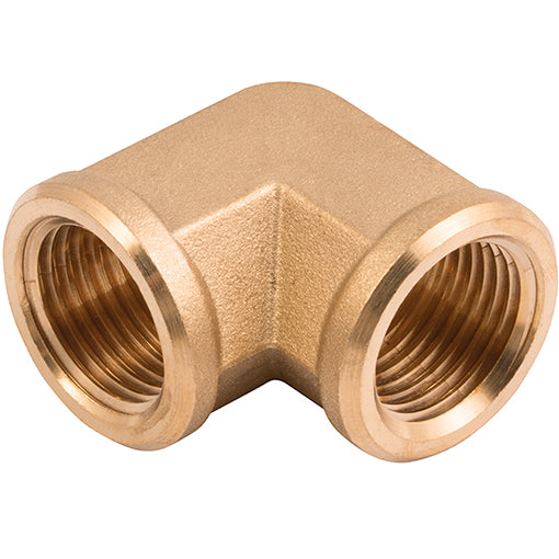 Brass Equal Elbow Female Thread R1/4""