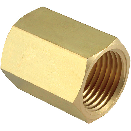 Brass Female Equal Socket  R1/4""