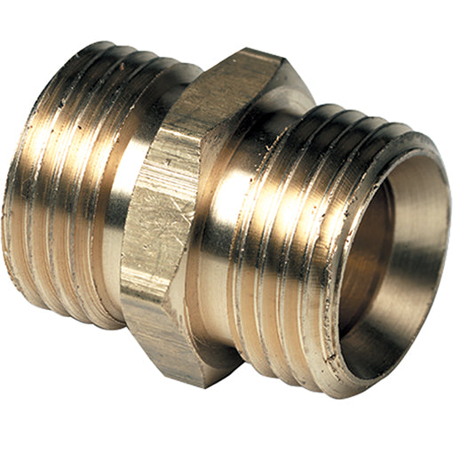 "Brass Parallel Connector BSPP G1/2"" G3/8"""