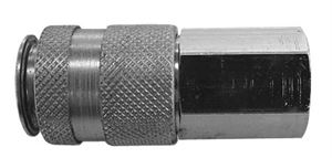 "Coupling Body Female Thread G3/8"", Hex 19mm, Length 58mm, CODE: QRC1938F"