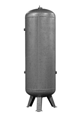 500 Litre Vertical Receiver CODE: 4101000910 / Port Connection BPS F 1.1/2""