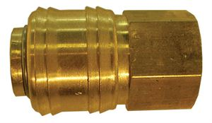 "Coupling Body Female Thread G1/4"", Hex 21mm, Length 41mm CODE: QRC2414F"